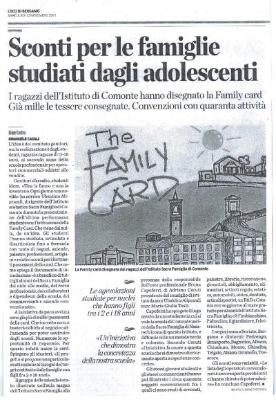 Articolo-Family-card_Eco-di-Bergamo_12.11.2014
